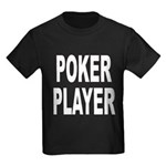 Poker Player Kids Dark T-Shirt
