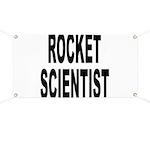 Rocket Scientist Banner