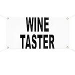 Wine Taster Banner