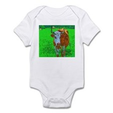 TEXAS COW Infant Bodysuit