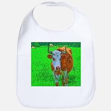 TEXAS COW Bib