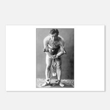 harry houdini Postcards (Package of 8)