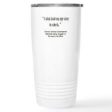 Cute Mugged Travel Mug