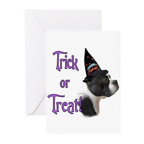 Boston Trick Greeting Cards (Pk of 10)