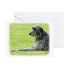 Deerhound 9R061D-090 Greeting Card