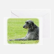 Deerhound 9R061D-090 Greeting Card
