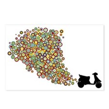 Scooter Fun Postcards (Package of 8)
