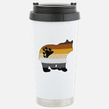 MOSAIC/BEAR PRIDE FLAG BEAR Travel Mug