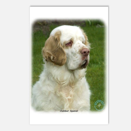 Clumber Spaniel 9Y003D-101 Postcards (Package of 8