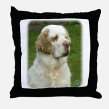 Clumber Spaniel 9Y003D-101 Throw Pillow