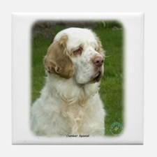 Clumber Spaniel 9Y003D-101 Tile Coaster