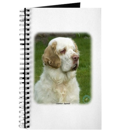 Clumber Spaniel 9Y003D-101 Journal