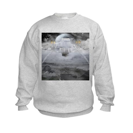Ghost ship Kids Sweatshirt