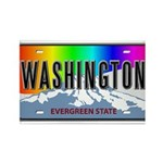 Washington Rectangle Magnet (10 pack)