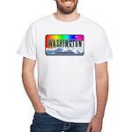 Washington White T-Shirt