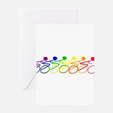 Ride a bike Greeting Cards (Pk of 10)