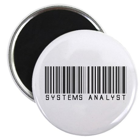 Systems Analyst Barcode Magnet