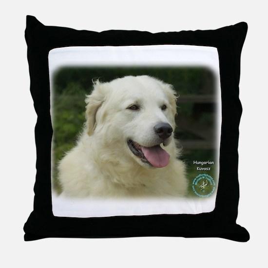 Kuvasz 8W02-17 Throw Pillow