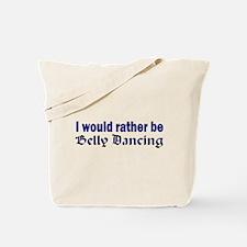 Rather Be Bellydancing Book Bag 2 Sided Design