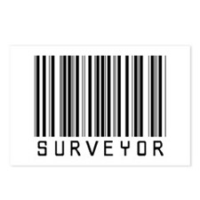 Surveyor Barcode Postcards (Package of 8)
