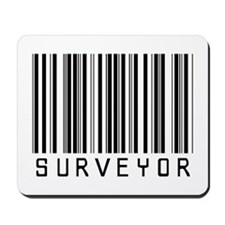 Surveyor Barcode Mousepad