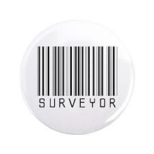 "Surveyor Barcode 3.5"" Button (100 pack)"