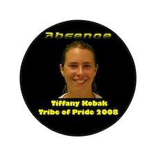 """Tiffany Kobak 3.5"""" Button"""