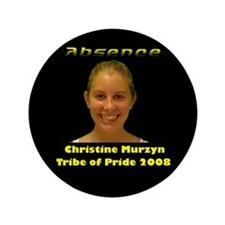 "Christine Murzyn 3.5"" Button"