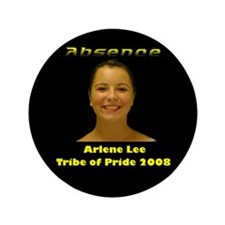 "Arlene Lee 3.5"" Button"