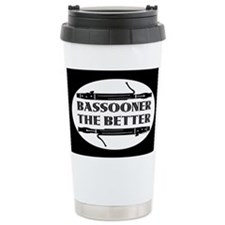 Bassooner the Better (h) Thermos Mug