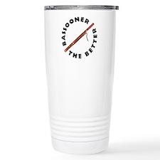 Bassooner (circular) Thermos Mug