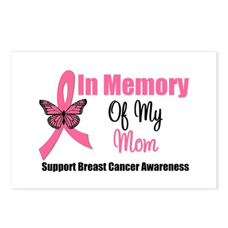 In Memory of My Mom Postcards (Package of 8)