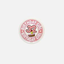Birthday Girl #32 Mini Button