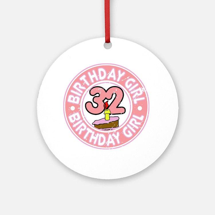 Happy 32Nd Birthday Happy 32nd Birthday Ornaments