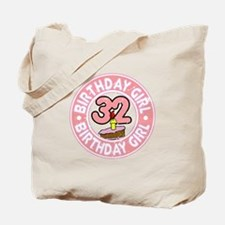 Birthday Girl #32 Tote Bag