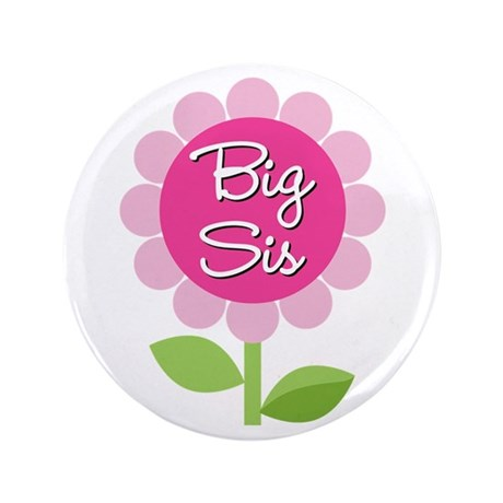 "Big Sis 3.5"" Button (100 pack)"