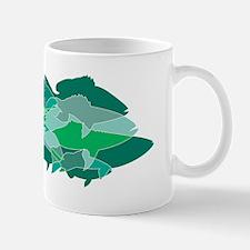 REEF FISH MOSAIC - Mug