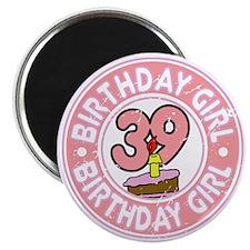 Birthday Girl #39 Magnet