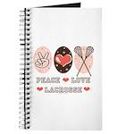 Peace Love Lacrosse Journal