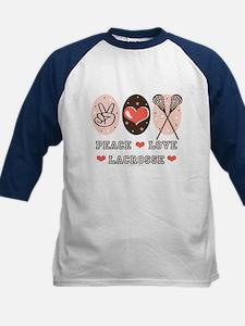 Peace Love Lacrosse Tee