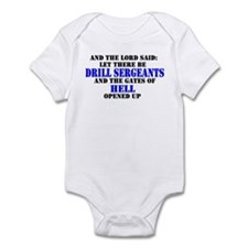 Drill Sergeants Infant Bodysuit