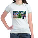 XmasMagic/TibetanTer 5 Jr. Ringer T-Shirt