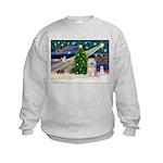 XmasMagic/TibetanTer(W) Kids Sweatshirt