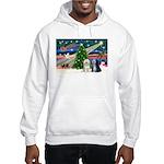 XmasMagic/TibetanTerriers Hooded Sweatshirt