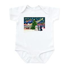 XmasMagic/TibetanTerriers Infant Bodysuit
