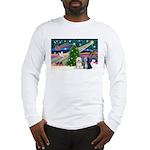 XmasMagic/TibetanTerriers Long Sleeve T-Shirt