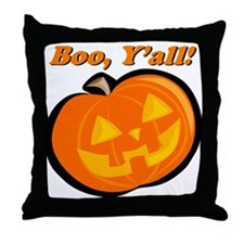 Boo, Y'all Tee Throw Pillow
