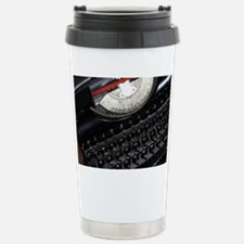 Vintage Typewriter Travel Mug