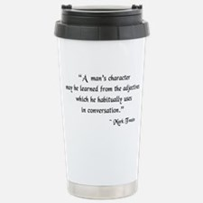 Character and Adjectives Travel Mug