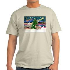 XmasMagic/Tibetan Spaniel T-Shirt